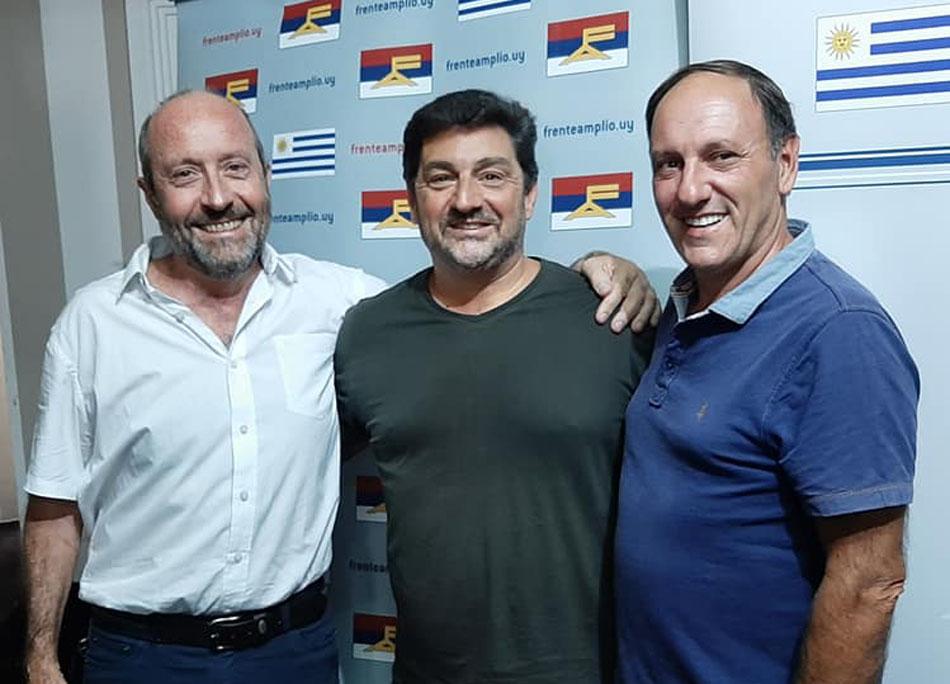 Jorge Mota, Fernando Maddalena y Ariel Beltran